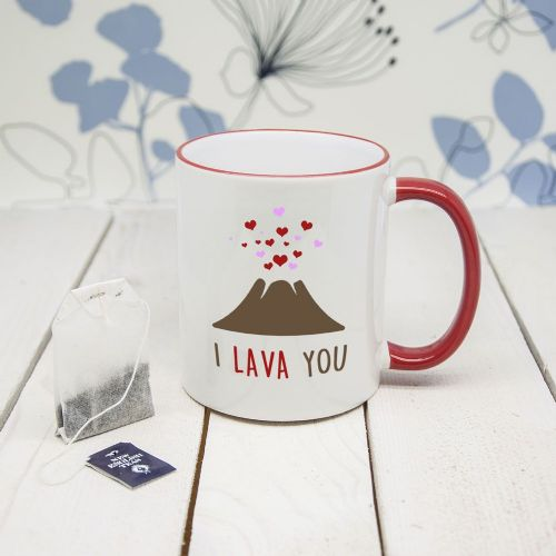 I Lava You Romantic Mug